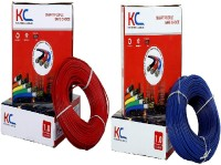 Happy Selling PVC 1 sq/mm Red, Blue 90 m Wire(Red, Blue)