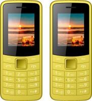 I Kall K73 Combo Of Two Mobiles(yellow)