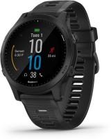 GARMIN Forerunner 945 Smartwatch(Black Strap, Regular)