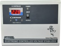 rahul Digi 3090 a 3 KVA 90-280 Volt Auto Matic Digital Voltage Stabilizer Auto Matic Stabilizer(White)