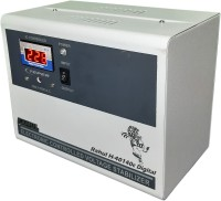 rahul H-40140c Digital 4 KVA/16 Amp Copper In Put 140-280 Volt 3 Step Best Suitable For 1.5 Tonns Air Conditioners Automatic Digital Voltage Stabilizer(White)