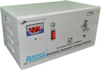 rahul Base-3 c3 Digital 3 KVA/12 Amp 140-280 Volt 3 Step Mainline Use Up to 3 KVA Load Automatic Copper Digital Stabilizer Digital Automatic Stabilizer(White)