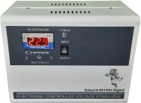 rahul H-40140a Digital 4 KVA/16 Amp In Put 140-280 Volt 3 Step Best Suitable For 1.5 Tonns Air Conditioners Automatic Digital Voltage Stabilizer(White)