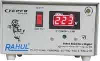 rahul 1023 DLX c Digital 700 VA/2.5 AMP 140-280 Volt 3 Step 1 Washing Machine/Refrigerator 90 Ltr to 220 Ltr Auto Matic Digital Voltage Stabilizer Auto Matic Stabilizer(Smook Gray)
