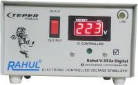rahul V-333a Digital 600 VA/2 Amp 100-290 Volt 1 Refrigerator 90 to 185 Ltr 5 Step Digital Automatic Stabilizer Digital Automatic Stabilizer(White)