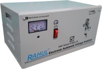 rahul V-666 c3 3 KVA/12 Amp 100-280 Volt Copper 5 Step Mainline Use Up to 3 KVA Load Automatic Voltage Stabilizer(White)