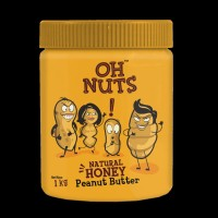 Oh Nuts Honey Natural Peanut Butter -1 Kgs 1 kg