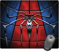 Golden Feather Spiderman Superhero Logo Designer Mousepad 76 Mousepad(Multicolor)