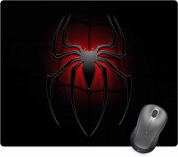 Golden Feather Superhero Spiderman Logo Designer Mousepad 70 Mousepad(Multicolor)