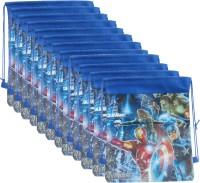 Asera 12 pcs Avengers Design Dori Bag for Kids Birthday Return Gifts Super HeroTheme Potli(Pack Of 12)