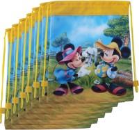 Asera 12 pcs Mickey Design Dori Bag for Kids Birthday Return Gifts Potli(Pack Of 12)