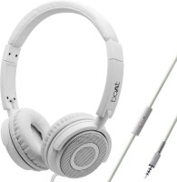 boAt BassHeads 900 Super Extra Bass Wired Headset(Pearl White, On the Ear)