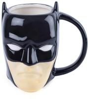 Mobhead 3D Batman Superhero Black Glossy Finish Coffee/Tea Pot Ceramic Ceramic Mug(400 ml)