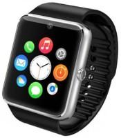 Padraig GT08 with Camera,Touch Screen Black Smartwatch(Black Strap, Regular)