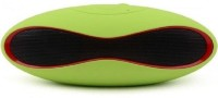 Padraig Mini Wireless Rugby style Bluetooth Speakers Outdoor Portable, USB MP3 Player, Enjoy music directly through Bluetooth, AUX cable, PEN drive or SD card with rechargeable battery With Play Time 8hr., Compatible with IPhone's, Smartphone's, IPad's, Android???s, Laptop's and All Bluetooth Mobile