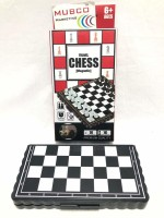 Mubco Pocket Size Magnetic Travel Chess   Mini Fordable Board Game Party & Fun Games Board Game