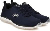 Skechers AIR GAME CHANGER Running Shoes For Men(Navy)