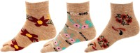 Rc. Royal Class Women's Floral Print Ankle Length(Pack of 3)