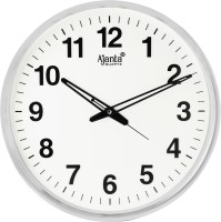 Ajanta Analog 32 cm X 32 cm Wall Clock(White, With Glass)