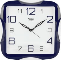 Ajanta Analog 28 cm X 28 cm Wall Clock(Blue, With Glass)