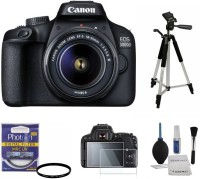 Canon 3000D (With Basic Accessory Kit) DSLR Camera With 18-55 lens(Black)