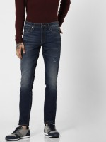 Jack & Jones Slim Men Blue Jeans