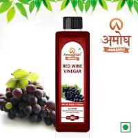 Amogghah Organic Red Wine Vinegar Non Alcoholic Drink (500 ml) Vinegar(500 ml)