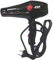 macklon Silky Shine 2000 w Hot and cold Fold Hair Dryer Black MLS- 514 Hair Dryer(2000 W, Black)