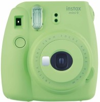 Fujifilm Instax Mini Camera Mini 9 Classic Lime Green Instant Camera(Green)