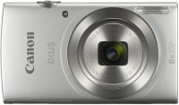 Canon IXUS IXUS185(20 MP, 8X Optical Zoom, 4X Digital Zoom, Silver)