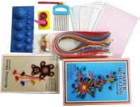 R H lifestyle Large Kit Quilling Paper Kit with Strips and tools DIY Art Crafts