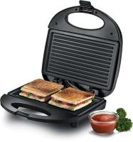 Prestige Sandwich Toaster Atlas with Fixed Grill(Black)