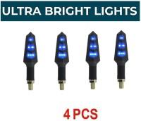 Wangsales Side LED Indicator Light for Hero, Bajaj, Royal Enfield, KTM, Bajaj, Suzuki, TVS, Honda Universal For Bike(Blue)