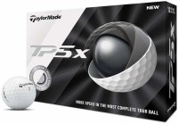 TAYLORMADE TP5x Golf Ball(Pack of 12, White)