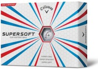 callaway super soft Golf Ball(Pack of 12, White)