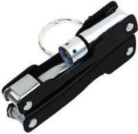 Flipkart SmartBuy Black Multi Utility 9 in 1 Torch Key Chain