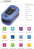 newnik PX701 Audio-Visual Fingertip Pulse Oximeter(Royal Blue)