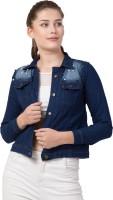 SAKSHI TRADER Full Sleeve Embellished Women Denim Jacket