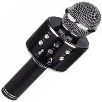 BIRATTY WS-858 Wireless Microphone With Speaker for Singing Microphone