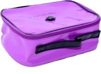 RK Brands Love Forever Beautiful Purple Shining PVC portable With inbuilt mirror Makeup Vanity Box Purple