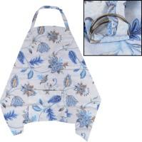Baby Grow Breastfeeding Nursing Cover for Mother Feeding Cloak(Light Blue)