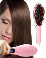 SKYFISH Hair Straightener Brush 2 in 1 hair straightener and curler New Hair Straightener Brush Hair Straightener Brush(Multicolor)