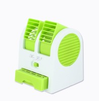 View globuy mini AC cooler Room/Personal Air Cooler(White and Green, 1 Litres)  Price Online
