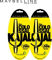 MAYBELLINE NEW YORK Colossal Kajal Promo(Black, 0.7 g)
