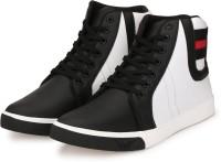 Fashion World Sneakers For Men(White)