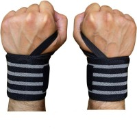 ABaO Wrist Support for Gym Workout, Band Brace Pack of 2 Wrist Support(Grey, Black)