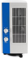 MNR Brands 0 L Tower Air Cooler(White, Blue, Rotating Cool Breeze)