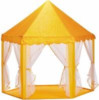 Divi Divine Kids Indoor and Outdoor Play Tent Castle(Orange)