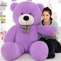 Ziraat Best Gift A Teddy Bear Purple Color Medium Size 3 Feet For Your Loved One  - 91.1 cm(Purple)