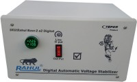 rahul Base-2 a2 Digital 2.5 KVA/10 Amp 140-280 Volt 3 Step Submersible Water Pump/ 2 Computers Set/Deep Fridge 100 Ltr to 360 Ltr Auto Matic Digital Voltage Stabilizer Digital Automatic Stabilizer(White)